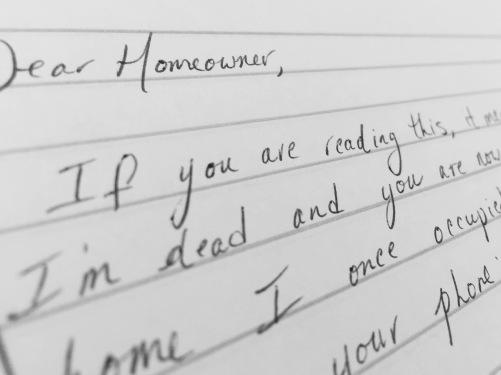 Dear Homeowner
